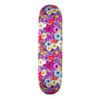 Floral Collage Skateboard
