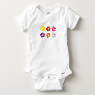 Floral Collection Baby Onesie