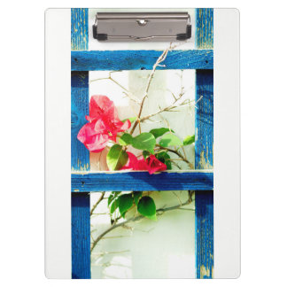 floral collection clipboard