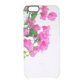 floral collection. lilac clear iPhone 6/6S case