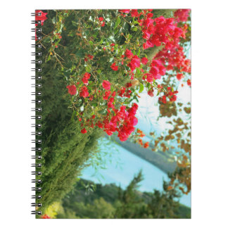 floral collection spiral notebook
