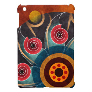 Floral Color Abstract Vector Art Case For The iPad Mini