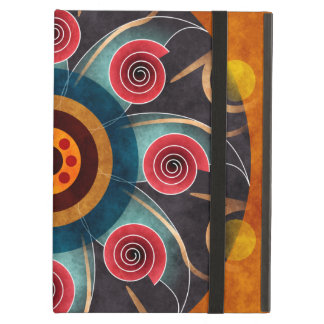 Floral Color Abstract Vector Art iPad Air Cover