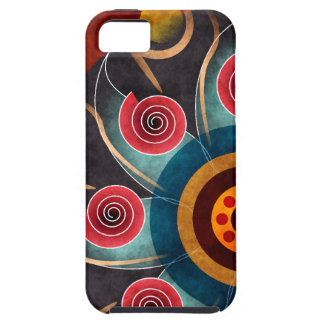Floral Color Abstract Vector Art iPhone 5 Case For The iPhone 5
