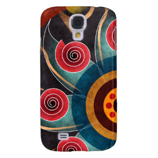 Floral Color Vector Art HTC Vivid Galaxy S4 Cases