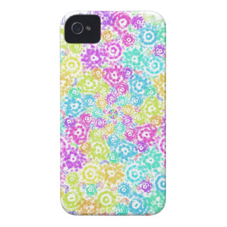 Floral colourful arrangement iPhone 4 case