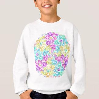 Floral colourful arrangement sweatshirt