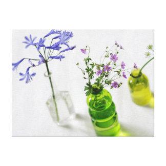 Floral composition canvas print