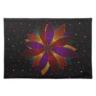 Floral cosmos placemats
