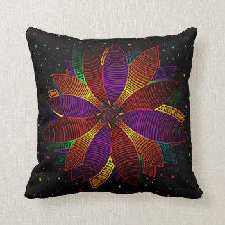 Floral cosmos cushion