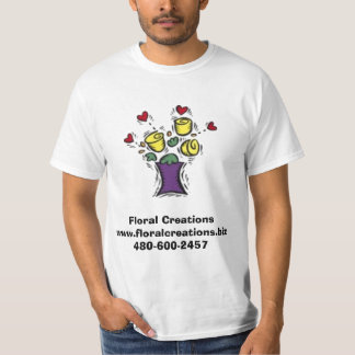 Floral Creations T-Shirt