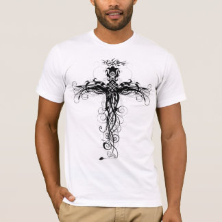 Floral Cross #5 T-Shirt