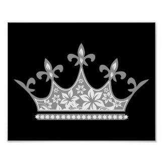 Floral Crown Poster