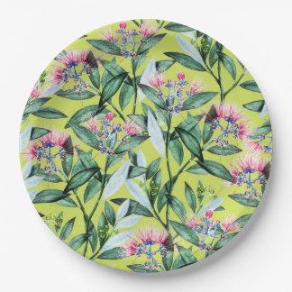 Floral Cure Paper Plate