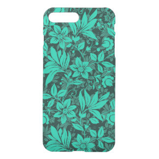 Floral Custom iPhone 7 Plus Clearly Deflector Case