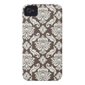 Floral Damask Blackberry Case