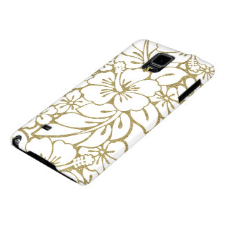 Floral Damask Hawaiian Style Galaxy Note 4 Case