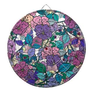Floral Dartboards