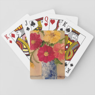 Floral Deck of Playing Cards