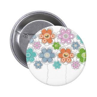 Floral Decor Pins