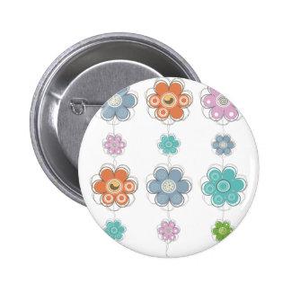 Floral Decor Buttons