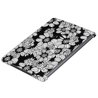 Floral decor cover for iPad air
