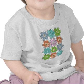 Floral Decor Tee Shirt