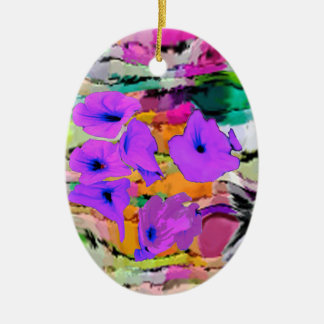 FLORAL CHRISTMAS ORNAMENTS