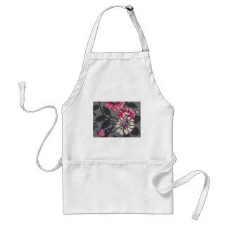 floral decoration apron