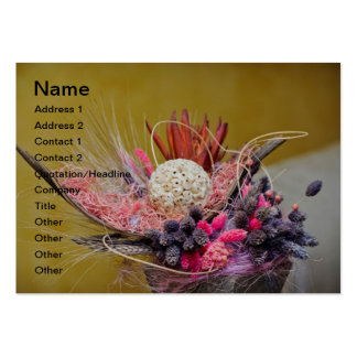 Floral decoration business card