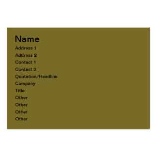Floral decoration business card template