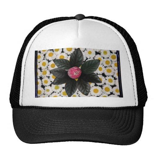 Floral decoration hat