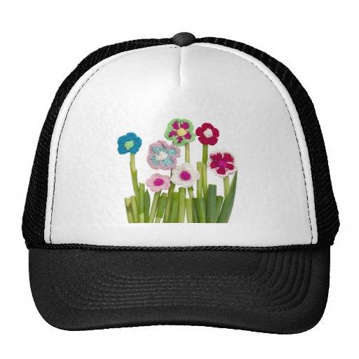 floral decoration hats