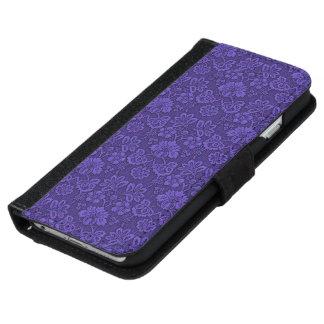 Floral decoration iPhone 6 wallet case