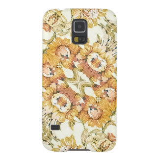 Floral Decorative Case For Galaxy S5
