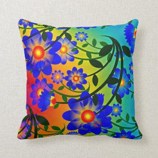 floral decorative throw pillow throw cushion