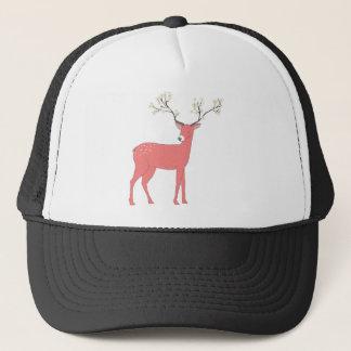 Floral Deer Trucker Hat