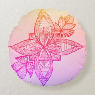 Floral Design - 1 Round Cushion