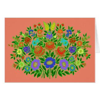 Floral Design #2 Card
