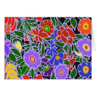 Floral Design #5 Card