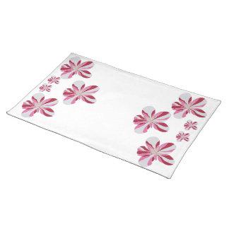 Floral Design Cotton Placemat
