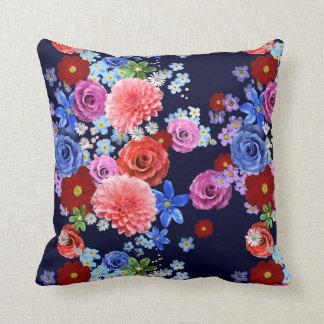 Floral design cushion