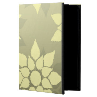 Floral Design in Shades of Yellow and Gold iPad Air Case
