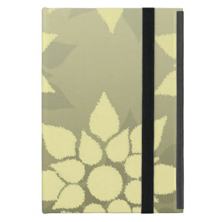 Floral Design in Shades of Yellow iPad Mini Cases