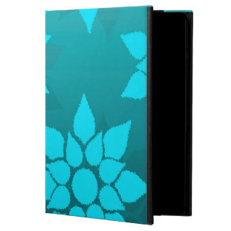 Floral Design in Turquoise Cover For iPad Air