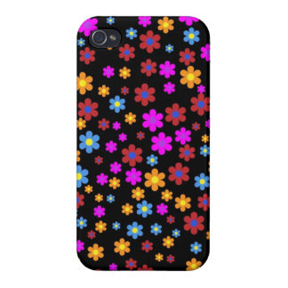 Floral design iPhone 4 cover