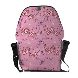 floral design courier bags