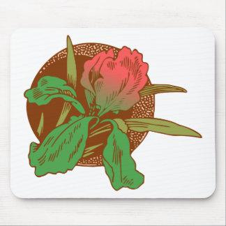Floral Design Mouse Pad