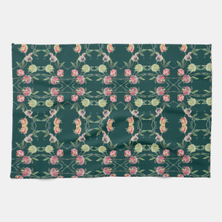 Floral Design Sweet Pea Tea Towel