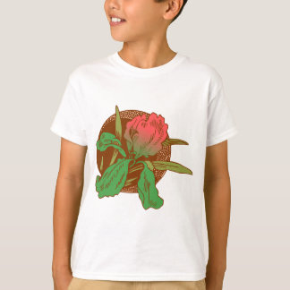 Floral Design T-Shirt
